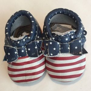 Freshly Picked Bow Moccs Born in the USA
